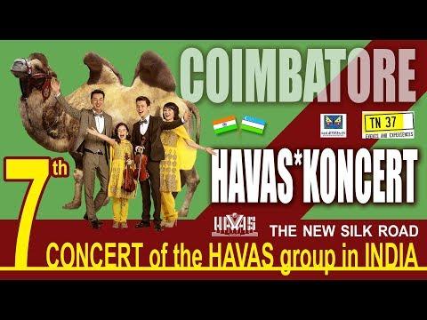 HAVAS guruhi-7 th CONCERT - INDIA - Coimbatore - 06.01.2018