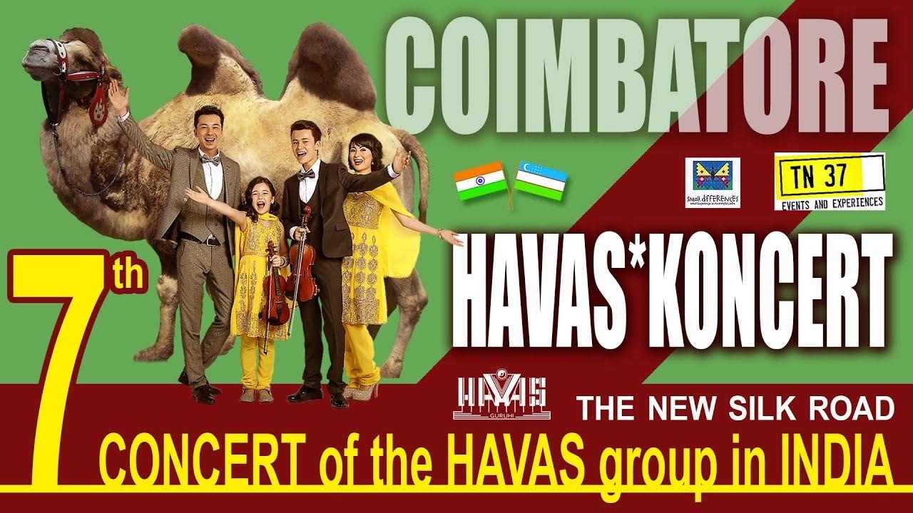 havas guruhi concert india coimbatore