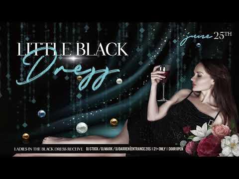 Little Black Dress Party – Animated Instagram Stories + Instagram Post + Facebook Cover