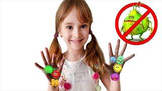 Настюша веселая история о том как важно мыть руки