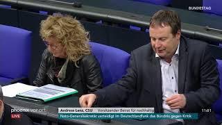 Bundestagsdebatte zu Zustand und Perspektiven der deutschen Wirtschaft am 08.11.19