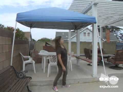 Sportcraft 12 X12 Slant Leg Instant Canopy Review Youtube