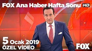 Emekli maaşları arasındaki uçurum derinleşti...  5 Ocak 2019 FOX Ana Haber Hafta Sonu