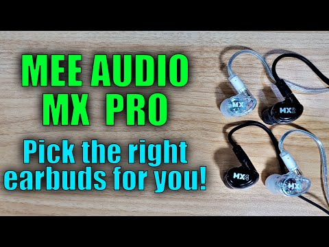 mee-audio-mx-pro-(part-1):-four-awesome-new-in-ear-monitors!