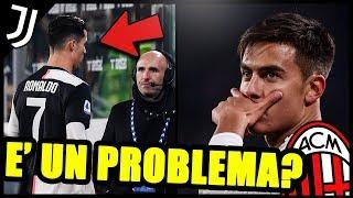 JUVENTUS MILAN 1-0 | CRISTIANO RONALDO È UN PROBLEMA? DYBALA LA RISOLVE DOPO LA SOSTITUZIONE DI CR7!