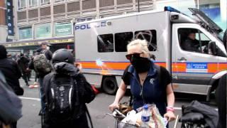 PROTEST AGAINST DEADLY ATTACKS ON GOVIND PANSARE, ADV.SHAHID AZMI