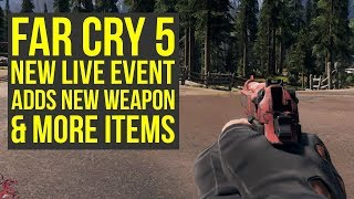Far Cry 5 M9 Pistol OUT NOW - How To Get It From Arcade Noon Live Event (Far Cry 5 Live Events)
