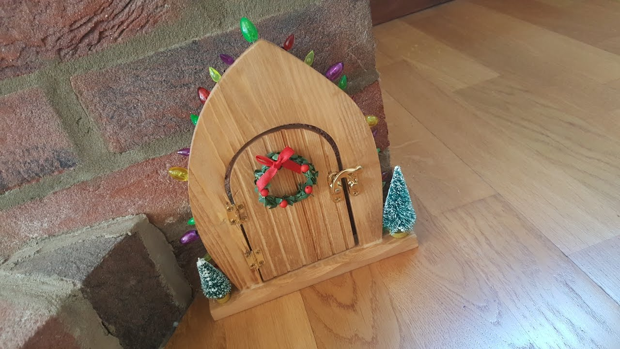& Magic elf door appeared. Is the elf on the shelf coming back? - YouTube