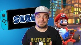 HUGE Sega Franchise Coming to Switch + Mario Kart Tour is FUN?!