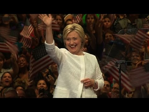 Hillary Clinton makes history (Full speech - June 7, 2016)
