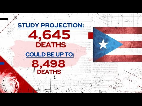 Family members support Harvard study on death toll in Puerto Rico from Hurricane Maria