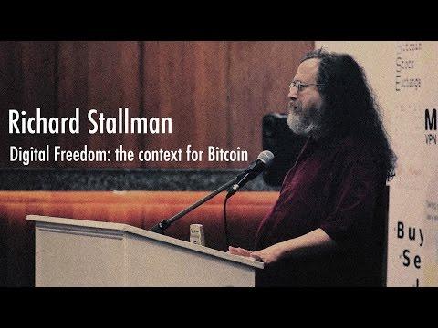 Bitcoin 2012 London: Richard Stallman
