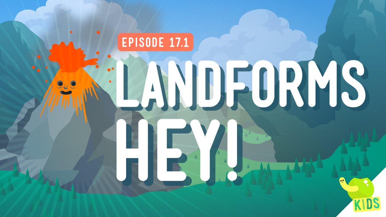 medium resolution of Landforms