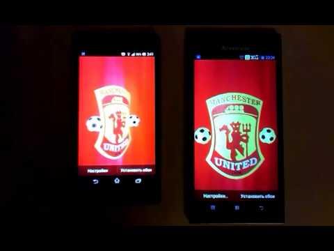 Manchester United's Crest 3D Live Wallpaper - YouTube