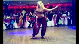 Shakira on Bollywood dance..at Divali Party....
