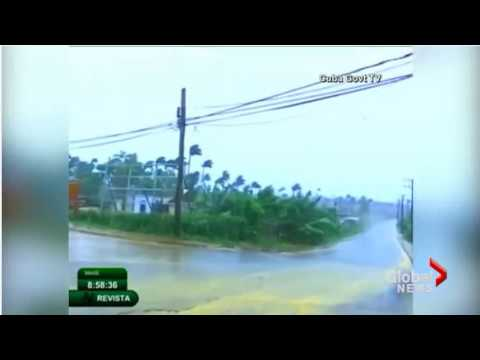 Hurricane Irma hits Cuba Live Video -  Hurricane Irma Live Tracker