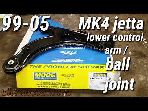 99 - 05 vw jetta lower control arm / ball joint