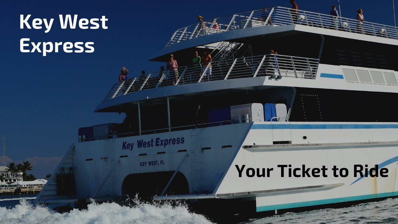 Key West Express Ferry Sailing Year Round From Fort Myers Beach Florida
