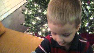 Decorating Christmas tree with Mommy