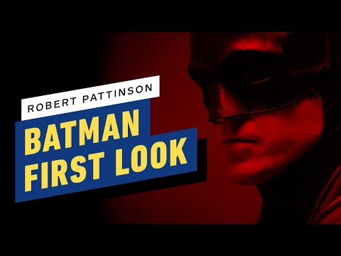 The Batman (Robert Pattinson) - Official Camera Test Teaser