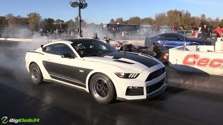 panda mustang rips to 9s fastest s550 w stock mt 82