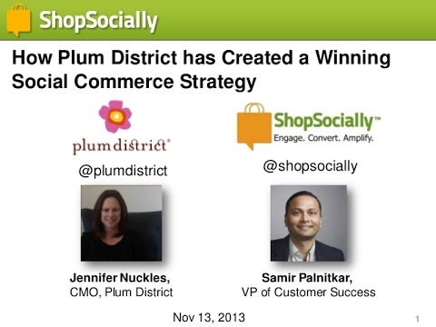 Plum District gains 35% sales conversion rate using social media