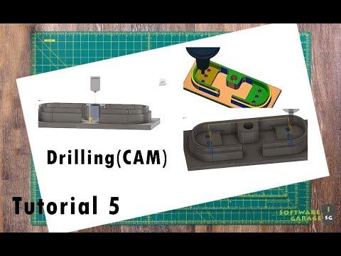Fusion 360 CAM tutorials for beginner | Software Garage | Tutorial-5 thumbnail
