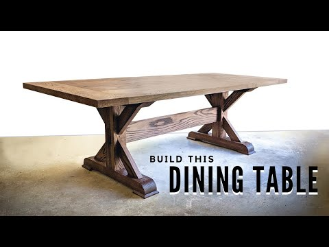 how-to-build-a-farmhouse-trestle-table---diy-woodworking