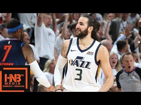 Oklahoma City Thunder vs Utah Jazz Full Game Highlights / Game 4 / 2018 NBA Season