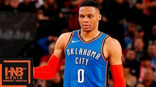 OKC Thunder vs Portland Trail Blazers Full Game Highlights | 01/04/2019 NBA Season