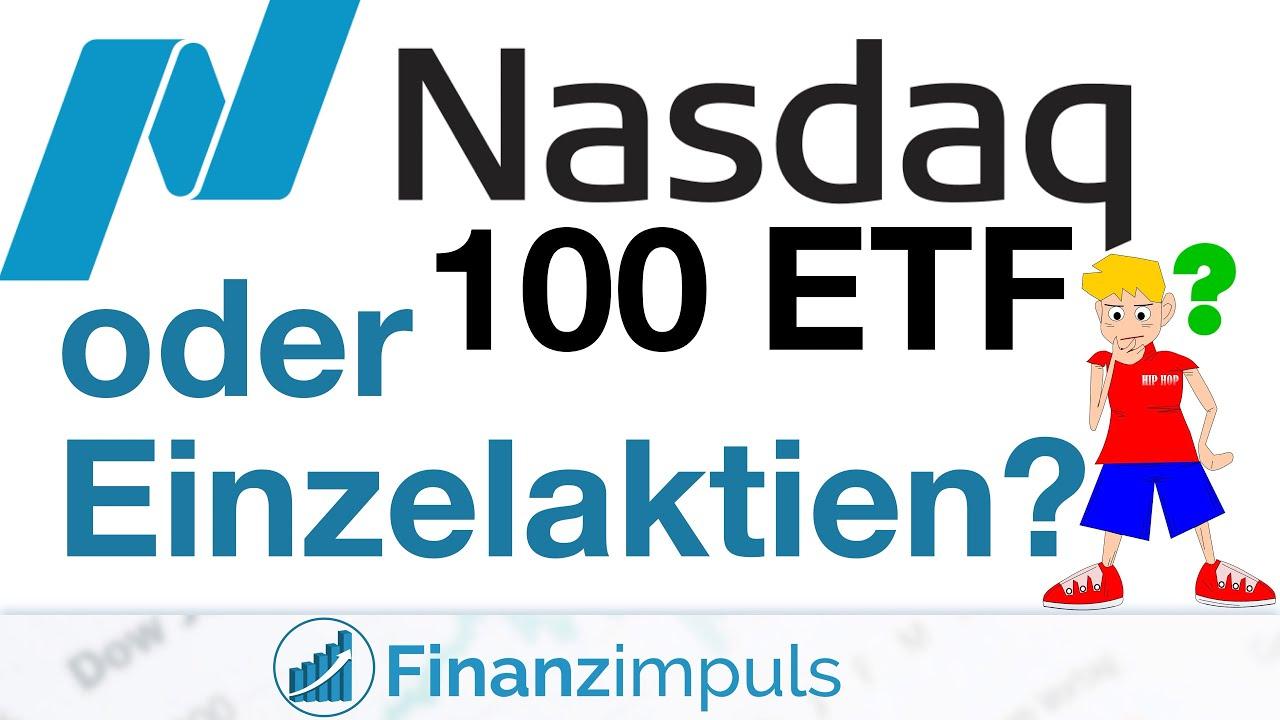 466% vs. 213% in 5 Jahren 🤔 NASDAQ 100 ETF vs. 15 Einzelaktien auf Kosten der Diversifikation