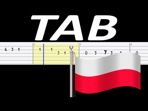 🎸 Piechota (pieśń patriotyczna) - melodia TAB (gitara) 🎸