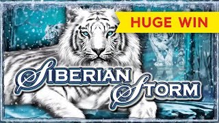 Siberian Storm Slot - $10 Bet - AWESOME BONUS!