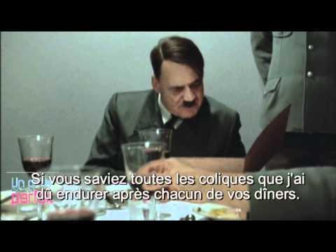 Hitler participe à un dîner presque parfait . poster