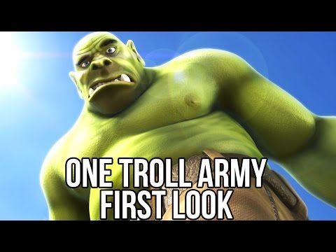 One Troll Army (Free Strategy Game): Watcha Playin'? Gameplay First Look