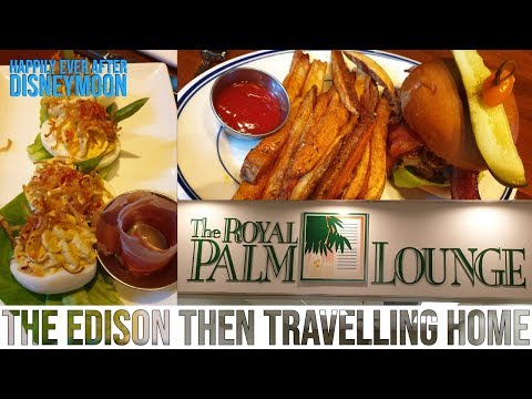 Travelling Home Day And The Royal  Palm Lounge At Sanford Airport | Happily Ever After Disneymoon