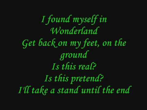 Avril Lavigne - Alice (Underground) (Instrumental w/lyrics)