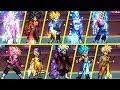 All Dragon Ball Transformations - MUGEN