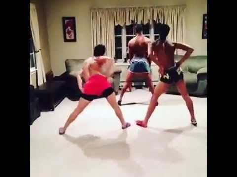 Black gay guys twerking