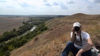 Вид с холмов в Усть Донецком районе...