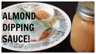 Almond Dipping Sauce