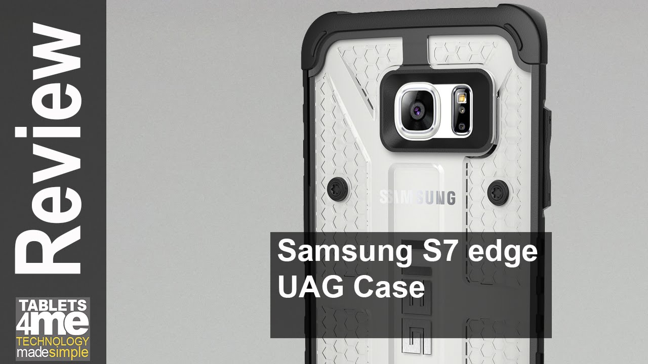competitive price 586a5 a5134 UAG ICE CASE FOR GALAXY S7 EDGE
