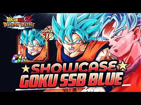 SHOWCASE - Goku Super Saiyan Blue STR | DBZ Dokkan Battle En Español