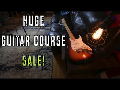 Guitar Course Bundle Sale Ends Tonight!