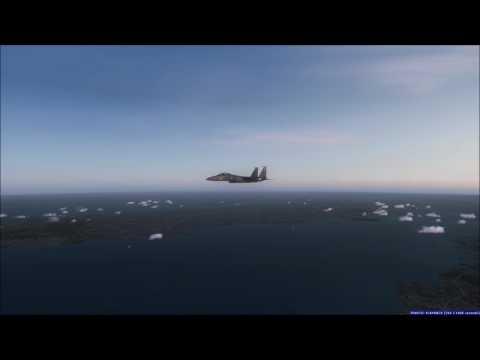 F35 Lightning II and F15 Strike Eagle nyc to boston in FSX