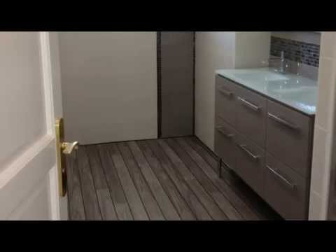 Avant apres travaux salle de bain - YouTube