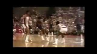 Dr J - Julius Erving Massive Dunk on Bill Walton