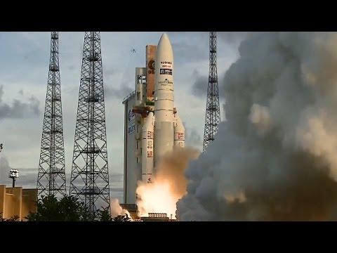 LIVE: Arianespace launches Eutelsat communications satellite to Orbit