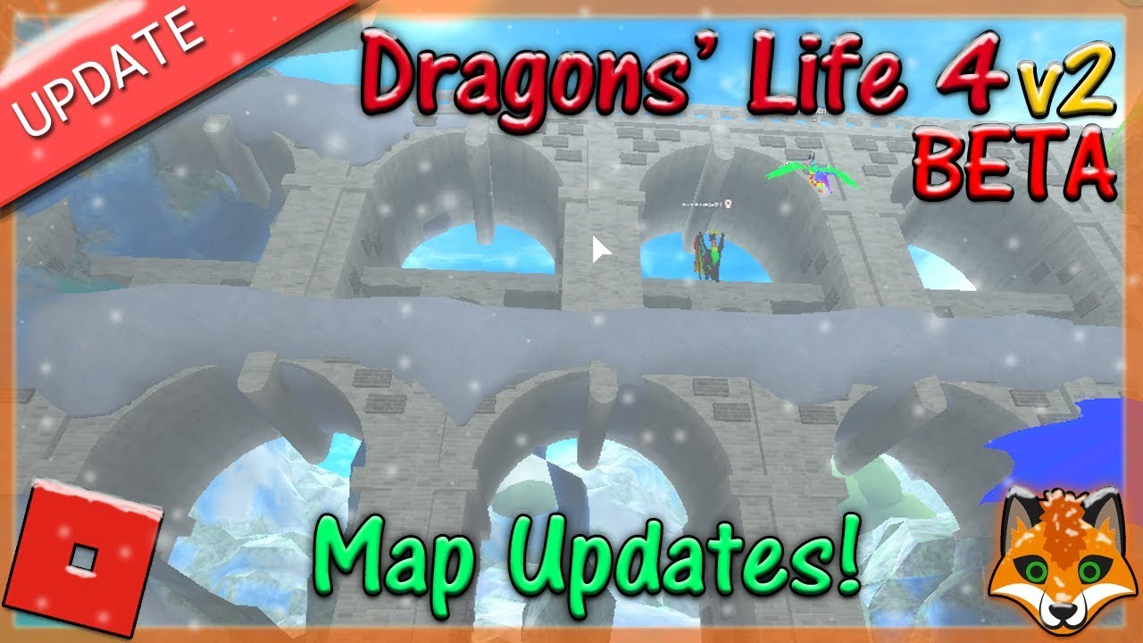 The Void Element Dragons Life Roblox Roblox Dragons Life 4 V2 Beta Map Updates 24 Hd By Reynardfoox