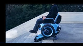 SCEWO: THE 21ST CENTURY ELECTRIC WHEELCHAIR CAN SMOOTHLY CLIMB STAIRS
